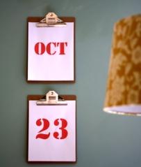 clipboard calendar