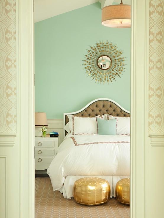 Seafoam bedroom