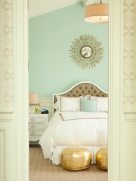 Seafoam bedroom