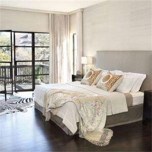 bedroom wooden floors