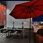 The Huxley - Rooftop BBQ Area
