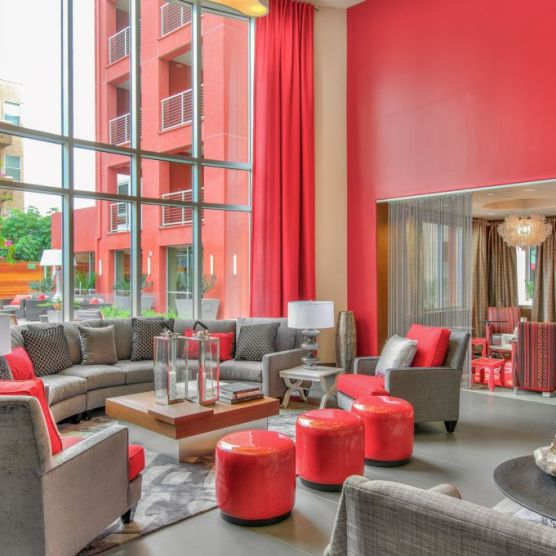 The Huxley - Clubhouse Lounge Area 3