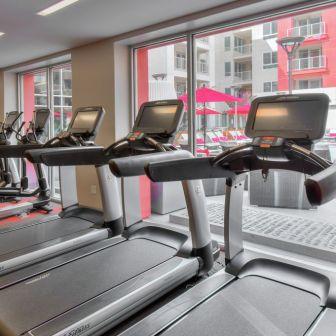 The Huxley - Fitness Center Treadmills