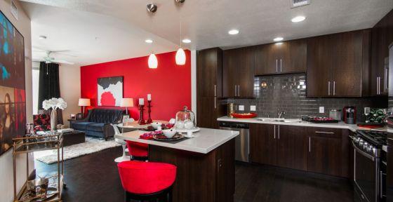 The Huxley - 1 Bedroom Kitchen