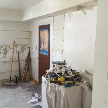 Suite 17_In Progress_Back Door