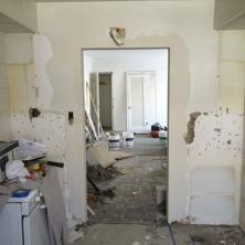 Suite 17_In Progress_Kitchen Doorway