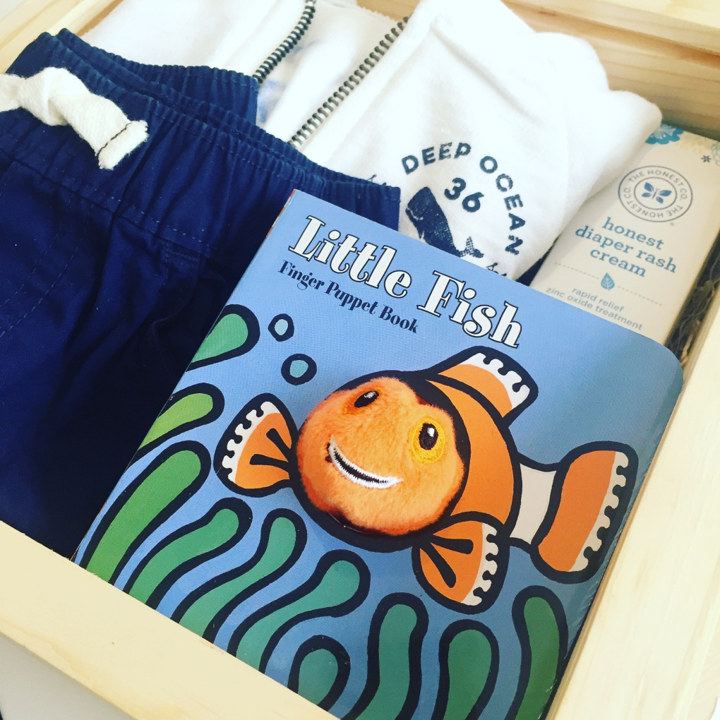 Gift box: baby boy_little fish